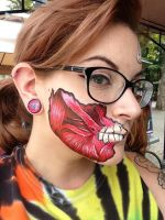 Face Paint: Anatomy by The-Witch-Doctor