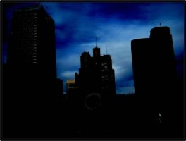 Blue in the City by K-ayu