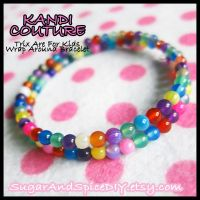 Trix Are For Kids Beaded Bracelet by SugarAndSpiceDIY