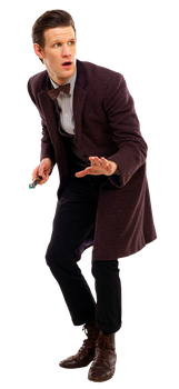 Eleventh Doctor Transparent by tardisplus
