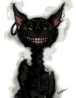 Cheshire Cat color and edit by NiGHTSfanKevin
