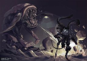 Diablo 3 fan art by K-hermann