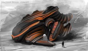 Vehicle Design - Concept Art by AMD-Design