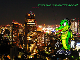 its croczilla by jaquille1