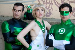 Green Lantern Corps by saritisima