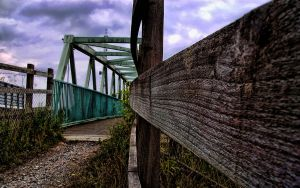 Fence HDR by Mitch-94