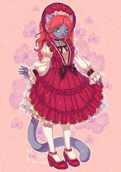 Lolita commission on FA 5 by swdd-cat