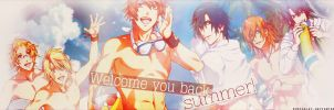 Cover Zingme - Welcome you back, summer! by RuScarlet