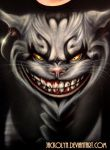 American McGee's Cheshire Cat - T-Shirt by Jackolyn
