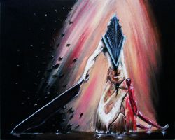 Pyramid Head by King-Kandie