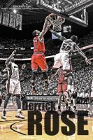 Derrick Rose by Golden24Knight