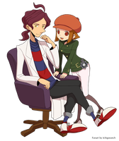 Layton Brothers: Mystery Room by IchigoRanch
