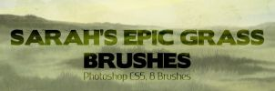 Sarah's Epic Grass Brushes 2013 by SarahScala