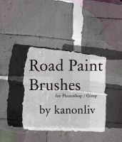 Road Paint Brushes by kanonliv