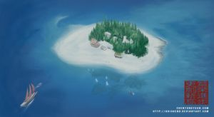 Beachcomber Islands by Grishend
