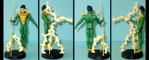 Weather Wizard custom figurine by Ciro1984