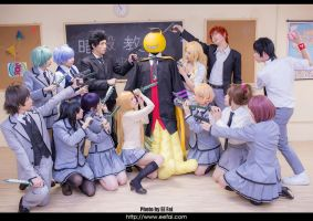 Assassination Classroom Cosplay by eefai