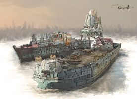 Boat Concept Sheet04 Low by samice