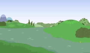 Background without ponies 2 - PNG by Larsurus