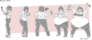 Commission - Parker Sequence by kawaiidebu