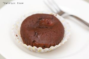 Raspberry lava cake 1 by patchow