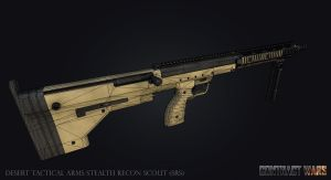 Desert Tactical Arms Stealth Recon Scout (SRS) by Matiush83
