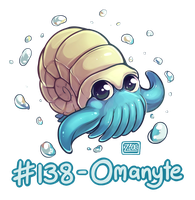 138 - Omanyte by Electrical-Socket