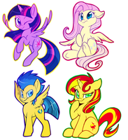 pony batch by Lustrous-Dreams