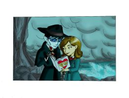 Strange Love. Dark Shadows by DemonCartoonist