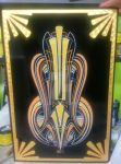 deco inspired pinstriping by HotRodJen
