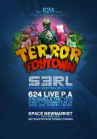 Terror In Toytown Flyer 2 by Kivex
