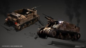 M7 Priest by ogami3d