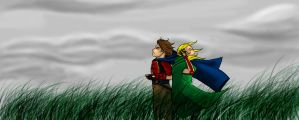 Dante and meteor -colored by KimiSaku19