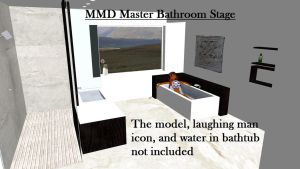 MMD Master Bathroom Stage ~Converted in SketchUp~ by swiftcat-mooshi