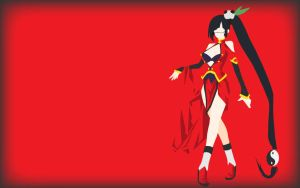 Litchi minimalist Wallpaper by Di-Cape