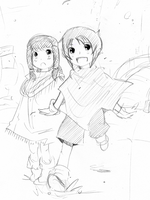 younger Toan and Paige doodle by Akemimi