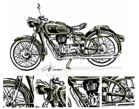 bmw Classic moto 2 by DHEWART