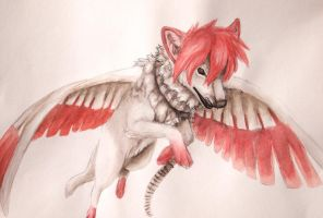 .:Soaring through the sky:. by Sally-Ce