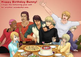 TIGERxBUNNY Happy Birthday Barnaby by nonoko1212