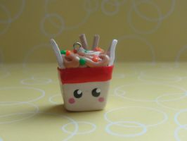 Kawaii Clay Take Out by CraftyOlivia