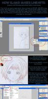 Lineart Tutorial by Klamsi