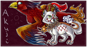 Akuji - chibi commish by Chrizka