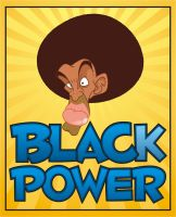 Black Power by Evandro-Barba