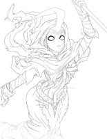 extremelly unfinished reaper soraka skin by zelphie00