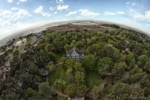 View from Top of Currituck Lighthouse by pewter2k
