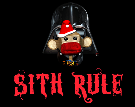 DARTH SOCK MONKEY:SITH RULE by Eat-Sith