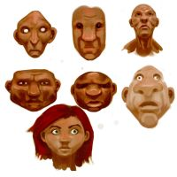 Faces 2 by cluis