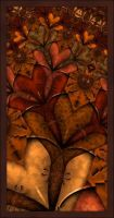 Autumn Window by BouncyHouse