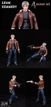 RE4 Leon Kennedy by Jin-Saotome