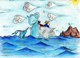 Sailing the Seas of Johto by RainAtronach